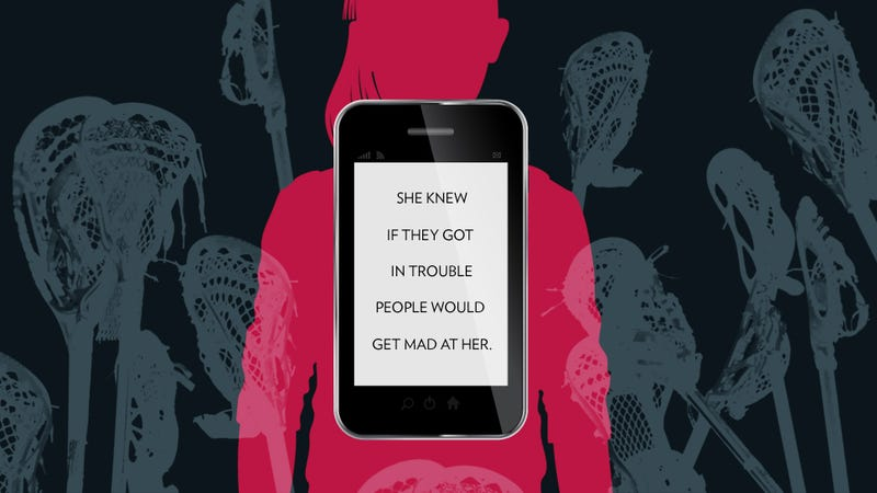 Illustration for article titled Girl Sends Sext, Gets Kicked Out of School. Lacrosse Players Share Sext, Get Off Scot Free