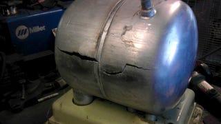 Illustration for article titled Low Pressure Aluminum Tank Repair