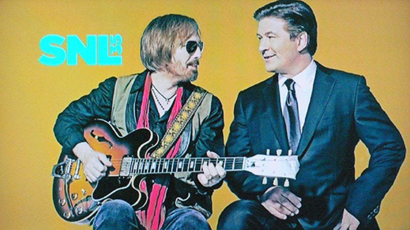 Illustration for article titled Saturday Night Live: Alec Baldwin/Tom Petty And The Heartbreakers