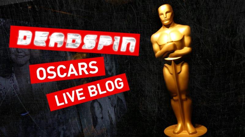 Illustration for article titled Your 100 Percent Bile-Filled Oscars Live Blog