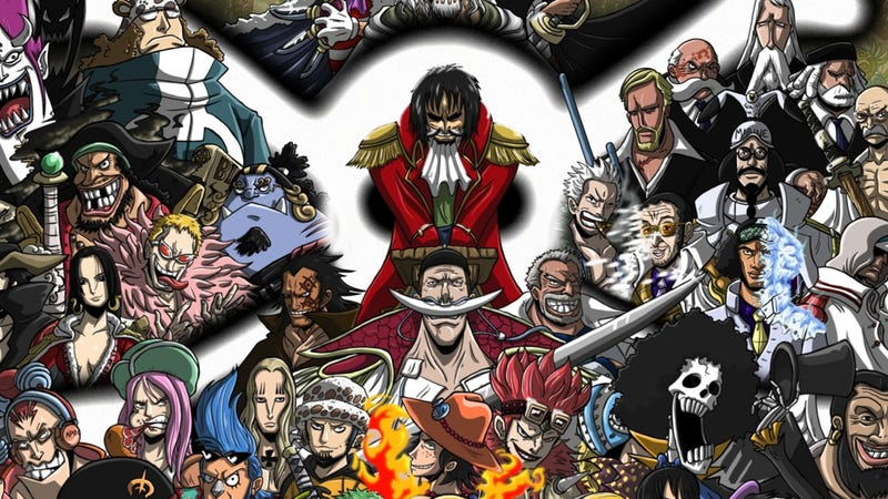 Illustration for article titled One Piece Characters Look Very, Very Familiar