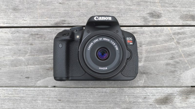 Illustration for article titled Canon EOS Rebel T4i DSLR: Fantastic HD Video, Not a Lot of Money