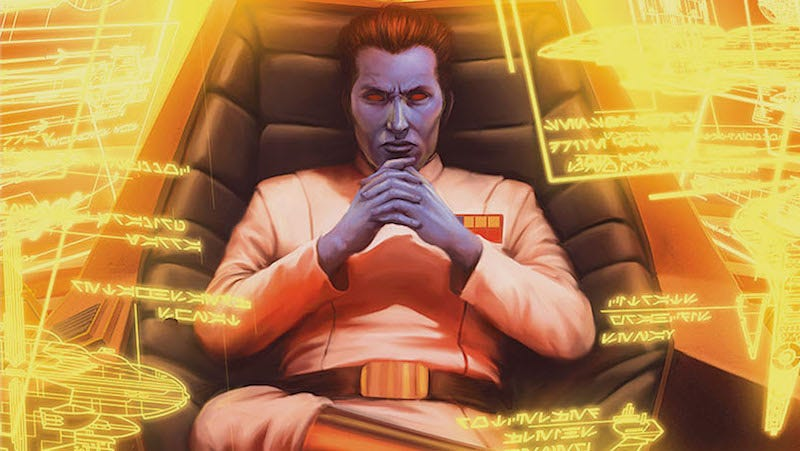 Who Is Grand Admiral Thrawn And Why Is His Appearance In Star Wars