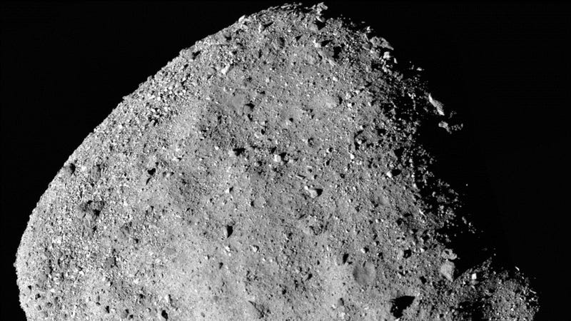 Bennu, taken by OSIRIS-REx on Dec. 2