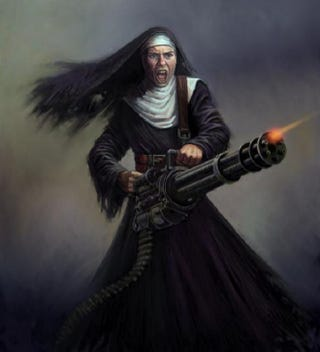 Illustration for article titled Wasteland 2 Battle Nun