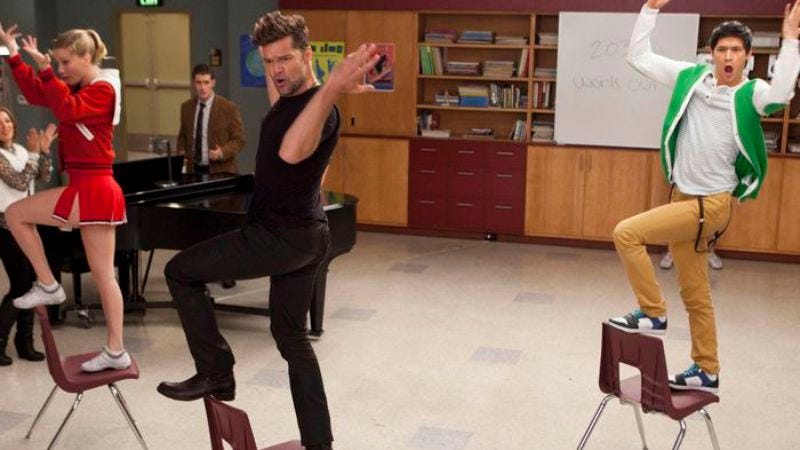 """Illustration for article titled Glee: """"The Spanish Teacher"""""""