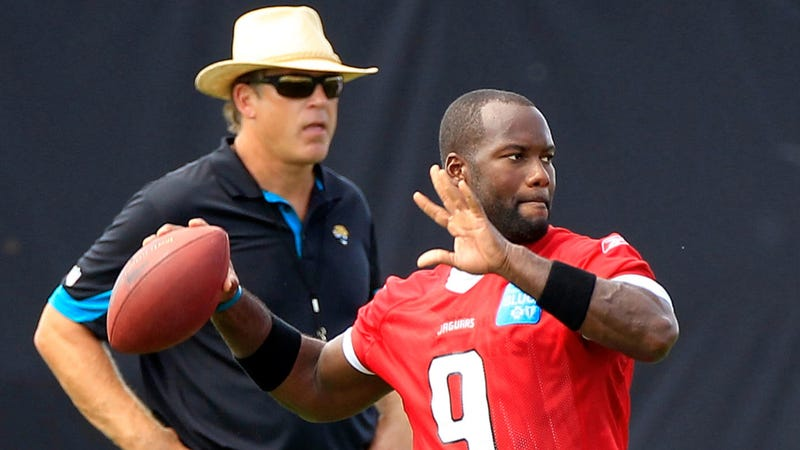 Illustration for article titled Hey, David Garrard Was Just Kidding About Playing QB This Year, You Guys
