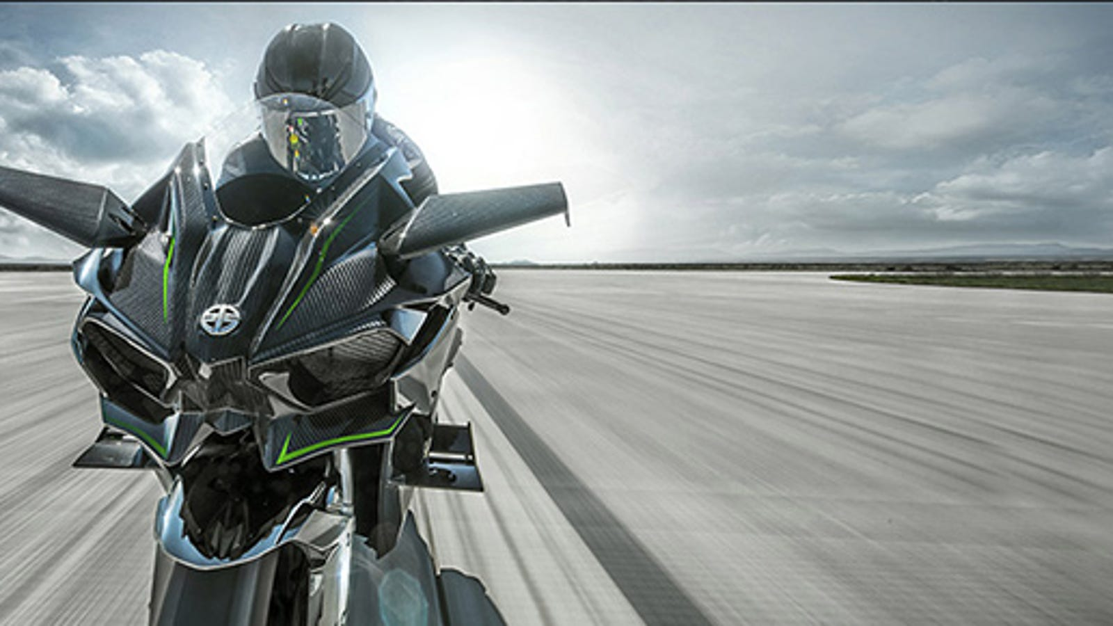 You Only Need A Half Mile To Hit 200 Mph On The Kawasaki H2r