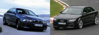 Illustration for article titled Who Uber Alles? E39 M5 Or RS 4?