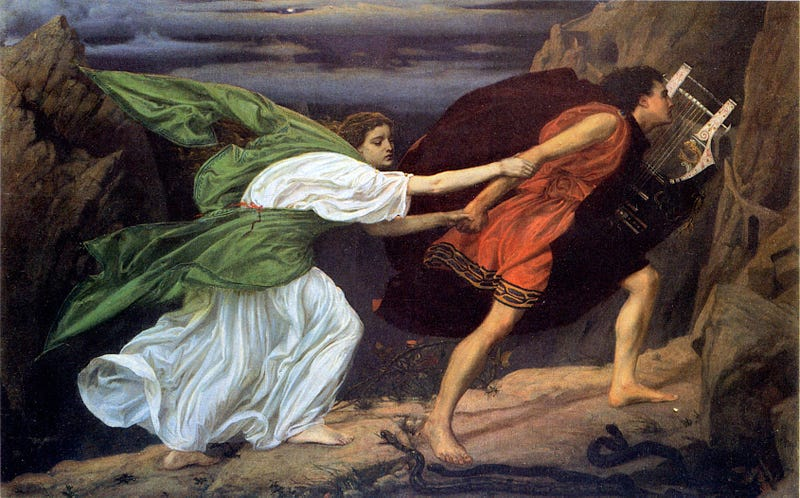 Illustration for article titled Petition to Rewrite the Ending of Orpheus and Eurydice