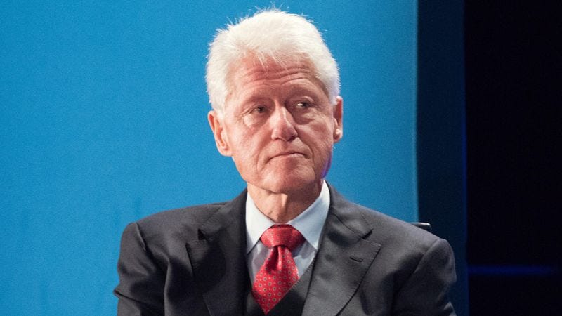 Illustration for article titled Bill Clinton Resting Up To Sit Upright At Next Debate