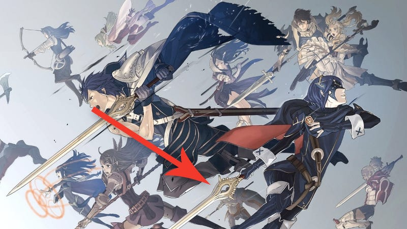 Illustration for article titled There's A Sly Inside Joke On The Cover Of Fire Emblem: Awakening