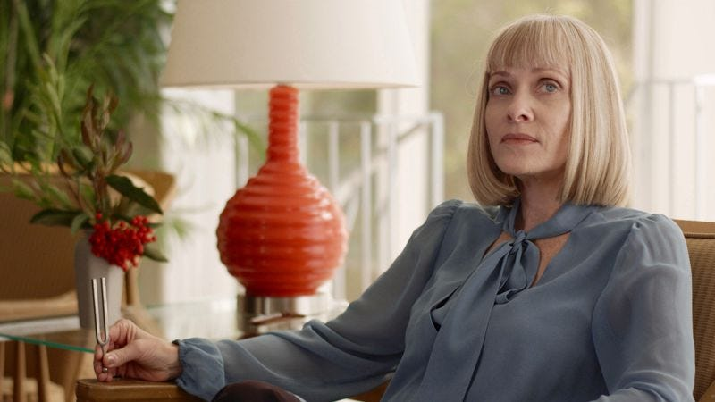 Barbara Crampton in Sun Choke (Photo: Shudder)