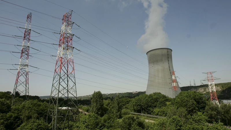 File photo of the nuclear power plant of Tihange in Belgium