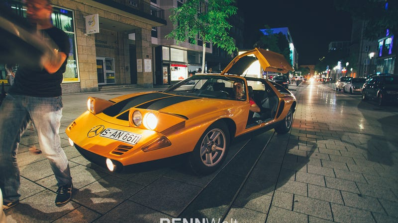 This Is An Ultra Rare Mercedes C111 Prototype On The Street