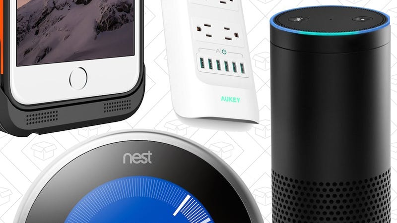 Illustration for article titled Today's Best Deals: Amazon Echo, Nest Thermostat, iPhone Battery Cases