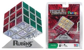 Illustration for article titled Transformers AllSpark Rubiks Cube Really Needs a Robot To Solve