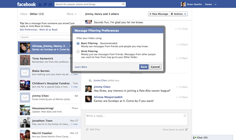 Illustration for article titled Facebook Might Make You Pay To Send Messages To Strangers