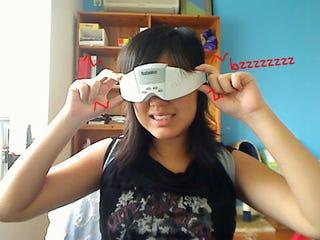 Illustration for article titled Lightning Review: Babaka Massage Glasses (Verdict: Face Ticklingly Weird)