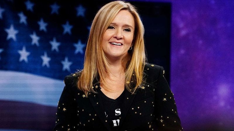 "Illustration for article titled Full Frontal With Samantha Bee apologizes for joking cancer patient had ""Nazi hair"""