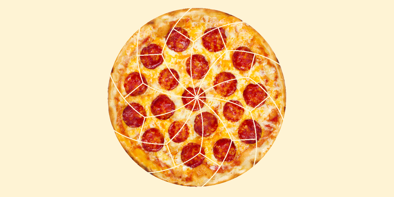 Illustration for article titled Mathematicians Have Found Crazy New Ways to Cut Pizza Into Equal Slices