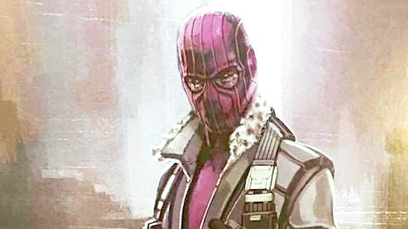 Illustration for article titled Captain America: Civil War Concept Art Gives Us Zemo With the Hood He Should Have Had