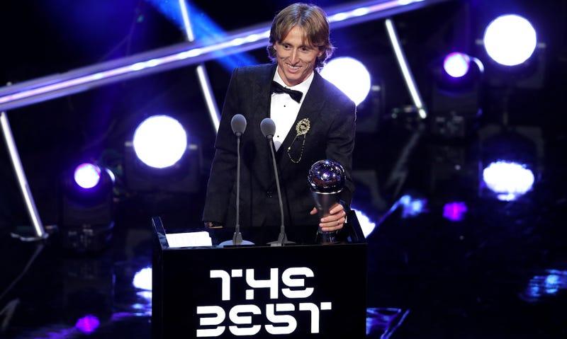 "Illustration for article titled Luka Modrić Wins FIFA's Dumb Little ""The Best"" Award"