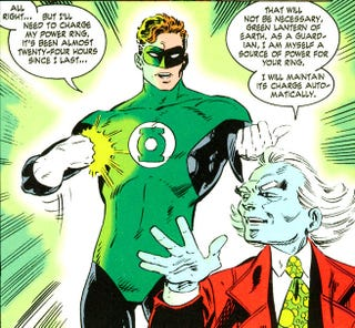 Illustration for article titled When Larry Niven reinvented the Green Lantern universe