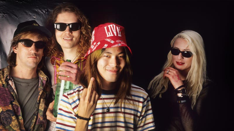 The Smashing Pumpkins, foreshadowing today's announcement in 1992. (Photo: Gie Knaeps/Getty Images)