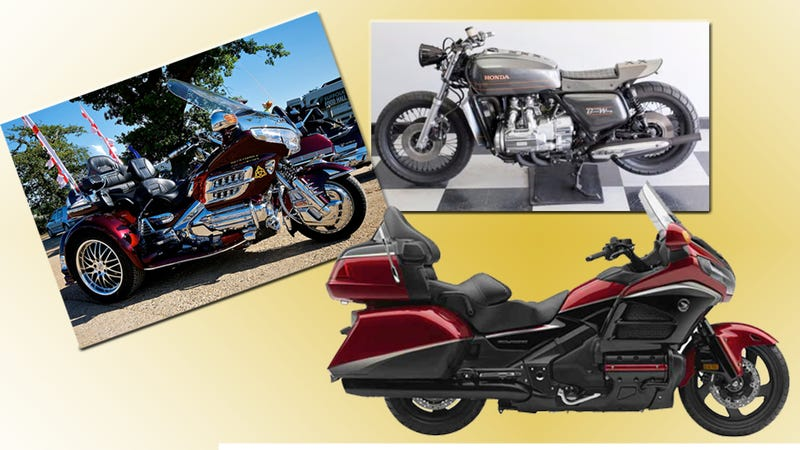 Illustration for article titled The Coolest Custom Honda Goldwings From The Big Bike's 40 Year Run
