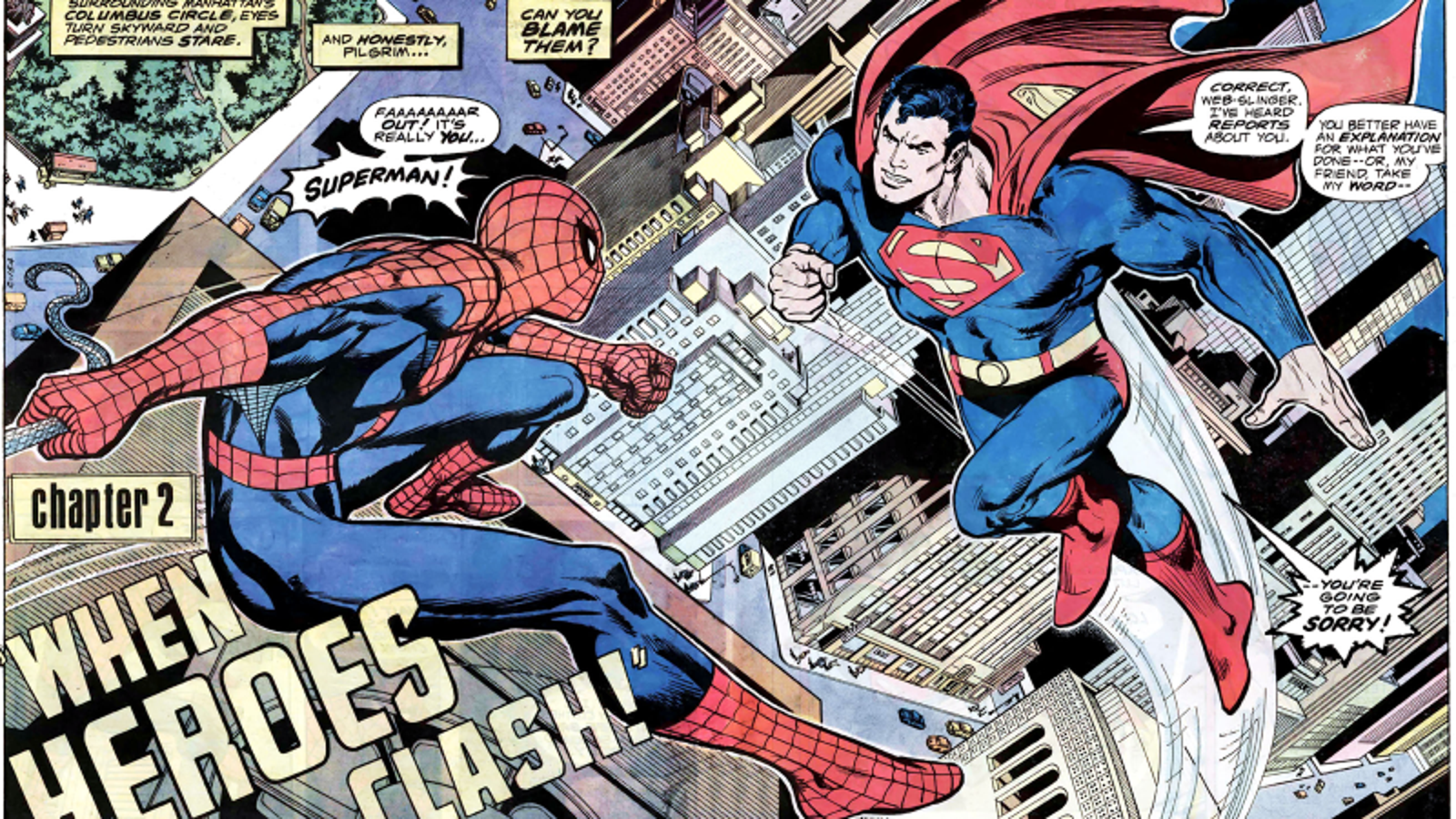 Rare 1970s DC vs. Marvel Documentary Time-Travels Back to Glory Days of Old-School Comics
