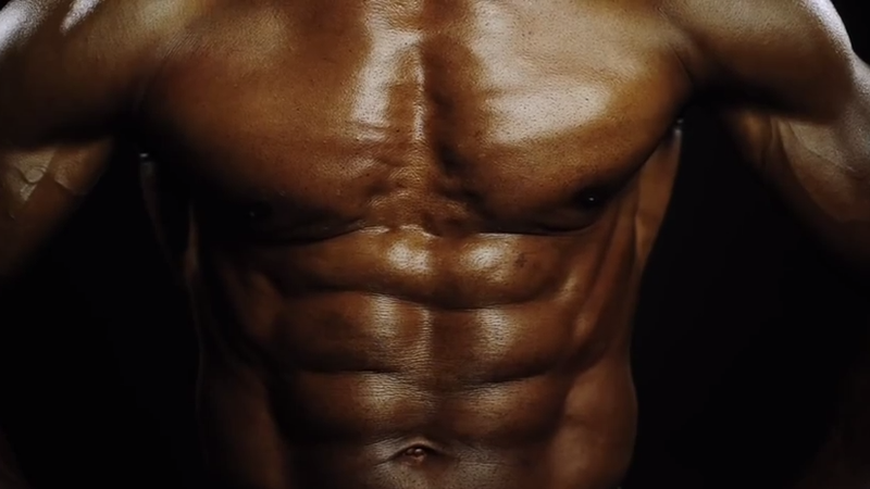 The 70--year-old body builder whose abs put men half his