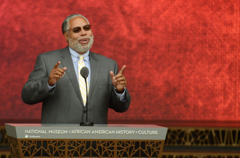 Lonnie G. Bunch III, founding director of the National Museum of African History and Culture, speaks during the dedication of the National Museum of African American History and Culture September 24, 2016.