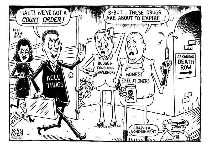 Illustration for article titled Lethal Injunction