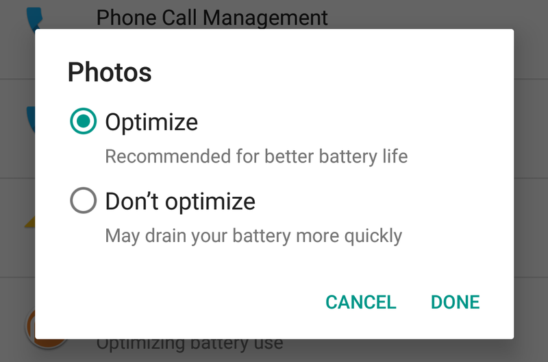 How to Exclude Certain Apps From Android's Battery-Saving