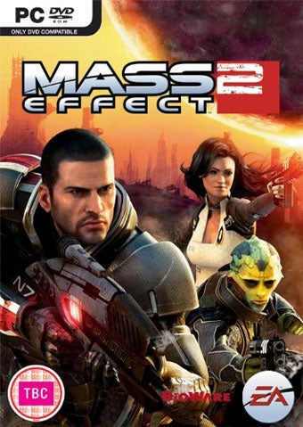 Illustration for article titled Europe Didn't Like America's Mass Effect 2 Box Art Either