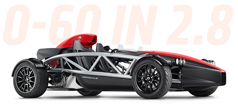 Illustration for article titled There's An All New Ariel Atom With The 320 HP Honda Civic Type R Engine