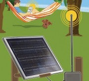 Illustration for article titled How to build a solar-powered wifi extender for your backyard