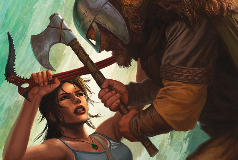 Illustration for article titled New Tomb Raider, Mass Effect, And Halo Comics