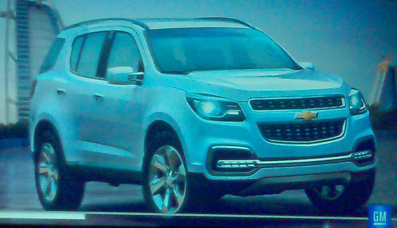 Illustration for article titled 2013 Chevy TrailBlazer: This is it?