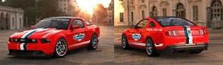 Illustration for article titled New Daytona 500 Pace Car Outed As 2011 Mustang GT