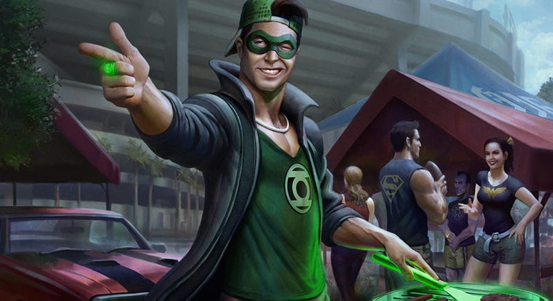 Illustration for article titled Do You Even Green Lantern, Bro? No.