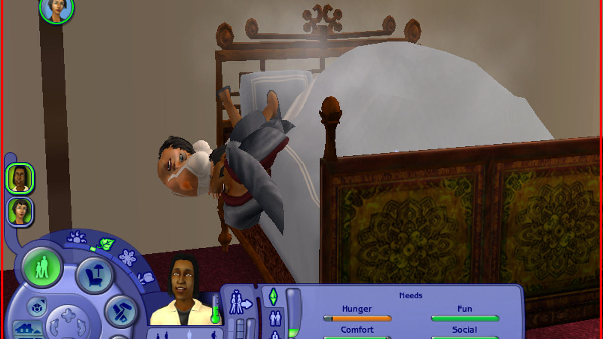 Woohooing In The Sims Is Actually Horrifying