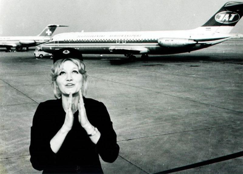 Imagen: Vesna Vulovic. Fear of Landing