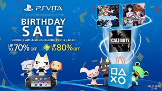 Illustration for article titled Sony's Having a Big Sale to Celebrate the Vita's Third Birthday