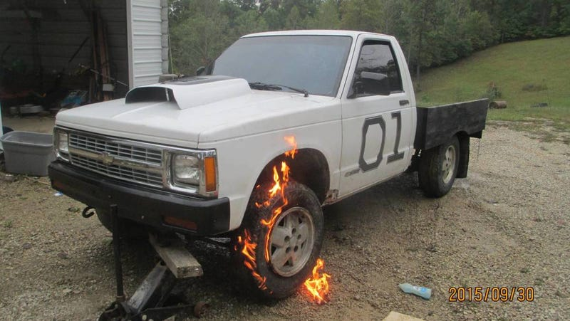 Illustration for article titled Craigslist Seller Knows What They Have, a Truck Not On Fire (Anymore)