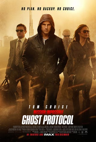 Illustration for article titled Mission: Impossible: Ghost Protocol Poster