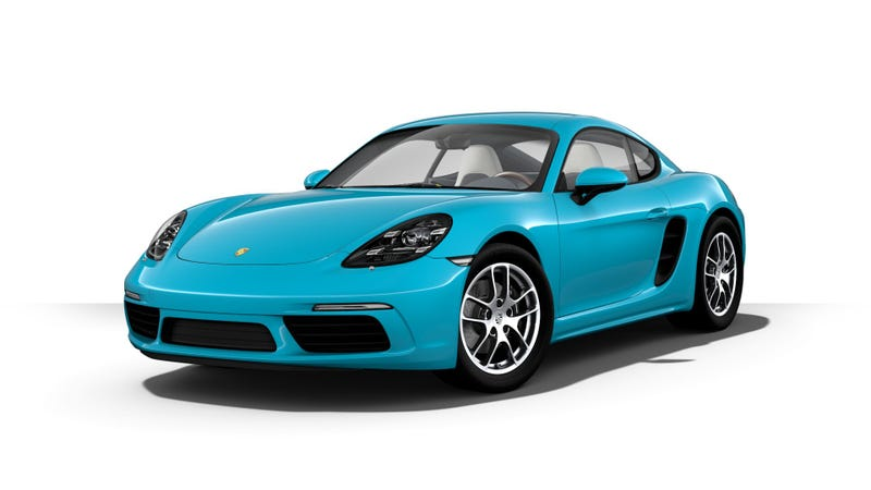 Illustration for article titled I built a Porsche Cayman