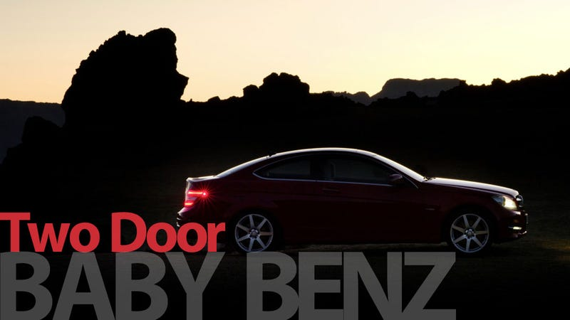 Illustration for article titled The Mercedes-Benz C-Class Coupe returns
