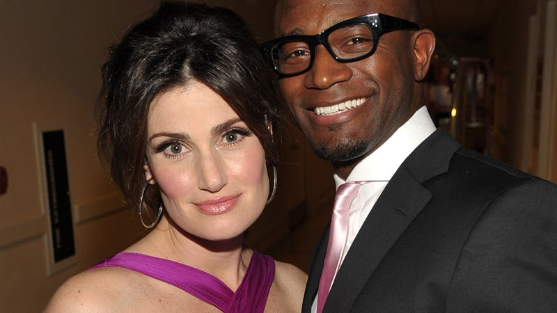 Illustration for article titled Noooooo: Taye Diggs and Idina Menzel Have Split